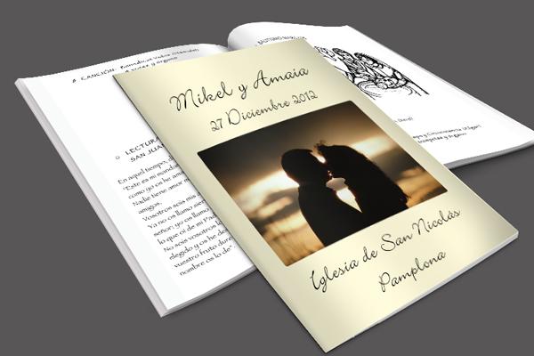 Foto de cuadernillo para la iglesia
