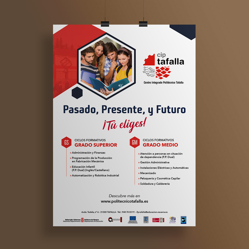 Foto de cartel Escuela profesional
