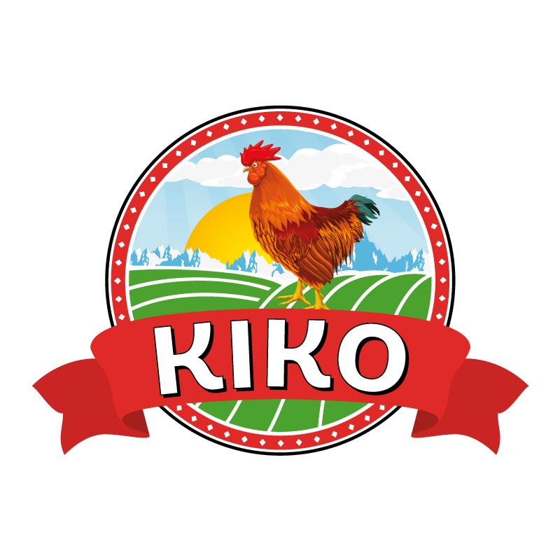 Logotipo de pollos Kiko
