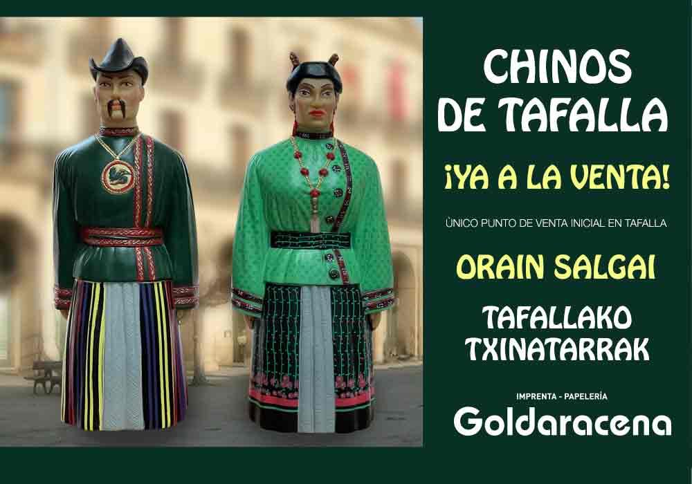 Foto de los gigantes de goma de tafalla Chinos a la venta