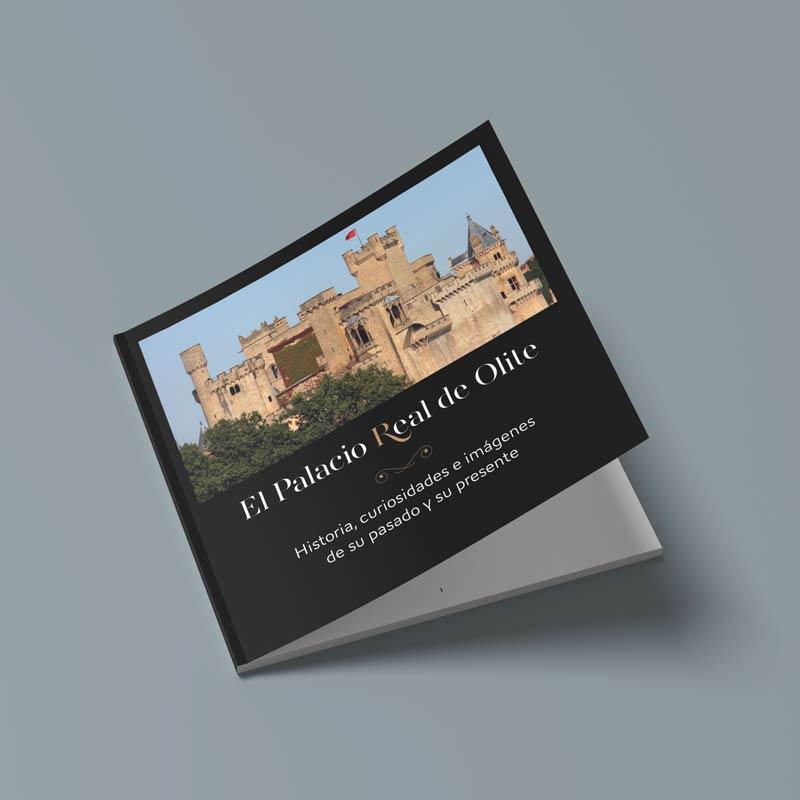 """Foto de la portada del libro """"El Palacio Real de Olite"""""""